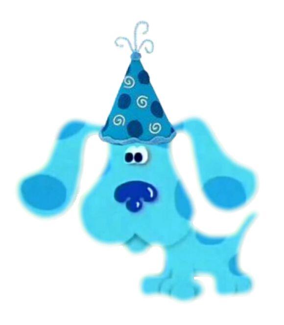 blue and magenta Blues Clues hat Blues clues birthday hat cutest blues clue hat blues clues outfit Blues clues invitations