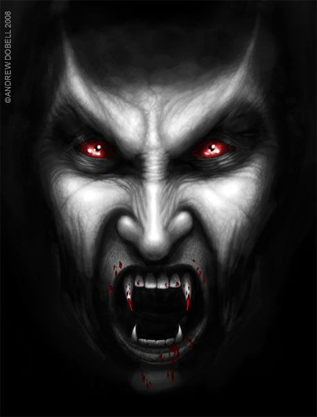 Vampire | ... up, And like any other proud vampire I had been sleeping my day away