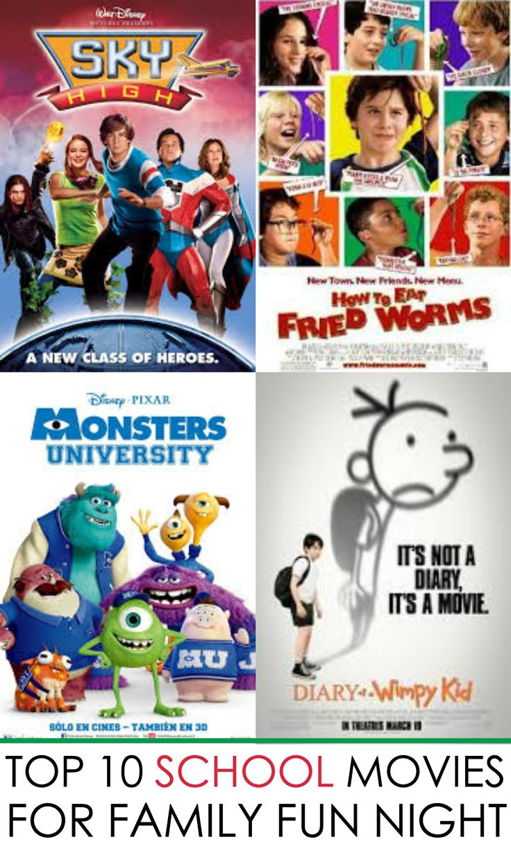 Looking for family movies? Now's the perfect time of year for school movies your whole family will enjoy. Check out these back to school movies…