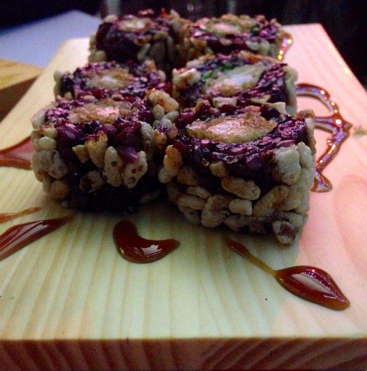 Sushi crispy, ristorante kaiten Sushiko, centro commerciale Parco Dora