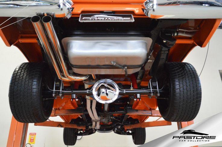 GM C14  1971 . Pastore Car Collection              Chevrolet C14 1971/1971 na cor Laranja. Veículo foi totalmente restaurado! Sem detalhes! Lataria, pintura, suspensão, diferencial, caixa de câmbio, motor, parte elétrica e interior, todos NOVOS!  - Motor CHEVROLET 4100 álcool com 316 CV verificado em dinamômetro  . - Três carburadores WEBER 44 . - Cabo , módulo e bobina MSD IGNITION . - Radiador de alumínio . - Diferencial original . - Caixa de cambio original . - Direção hidráulica D10...