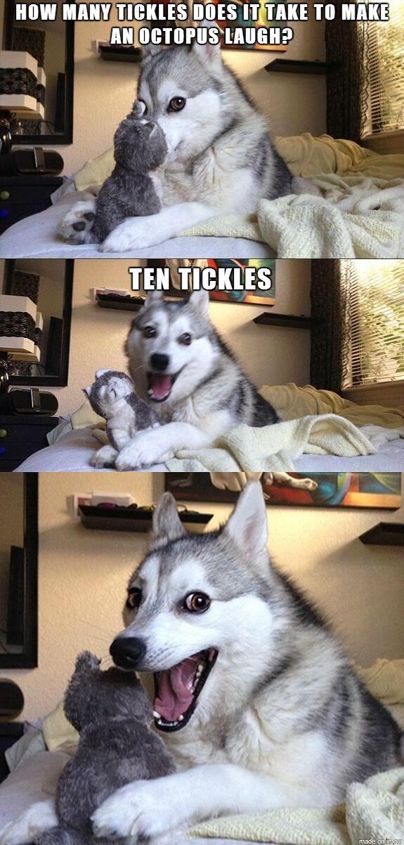 Just a corny joke...