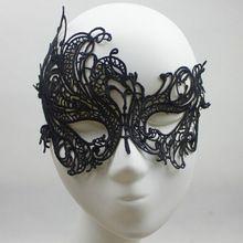 1 Pc de Cahrming preto Eye Venetian da máscara do partido máscara de Halloween(China (Mainland))