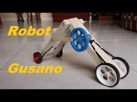 Robot Gusano (Como se hace)