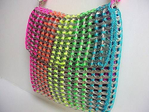 Pull Tab Purse - Pop Top Lady- crazy cool!