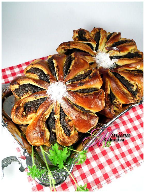 Gerberi od maka – Fiori di semi di papavero - recepti na srpskom i italijanskom: http://www.minjina-kuhinjica.com/category/ricette_italiane/