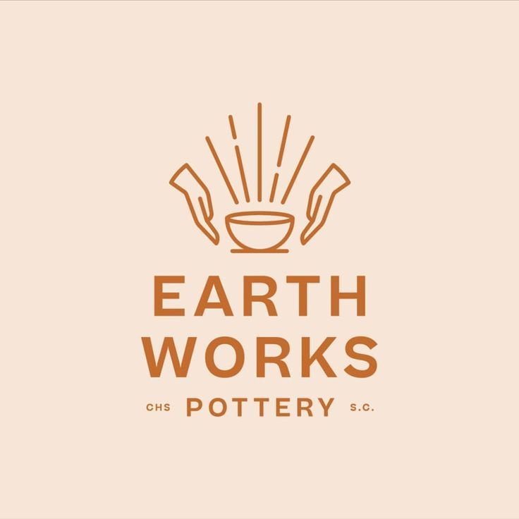 Ryan Prudhomme On Instagram New Identity I Worked Up For Earthworks Pottery Logo Brand Branding In 2020 Graphic Design Logo Logo Design Logo Design Inspiration