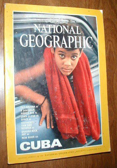 National Geographic Vol. 195, No. 6 June 1999 Cuba - for sale at Wenzel Thrifty Nickel ecrater store