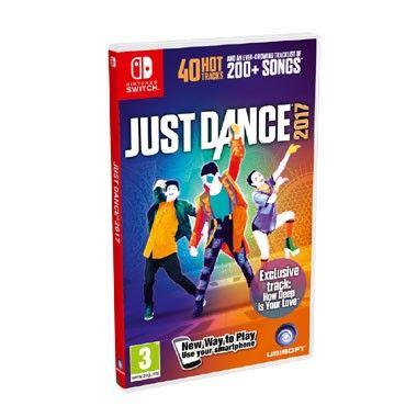 Nintendo Switch Just Dance 2017  Just Dance 2017 voor de Nintendo Switch brengt vijf unieke dansstijlen direct naar je huiskamer! Leer de Flamenco Charleston Haka en meer! Dans op de grootste hits en tijdloze klassiekers.  EUR 49.99  Meer informatie