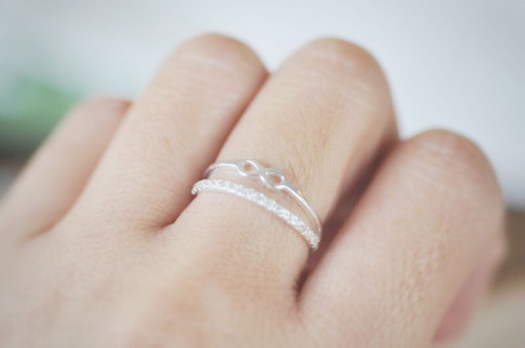 Double Layer Infinity Band Ring - Jamber Jewels
