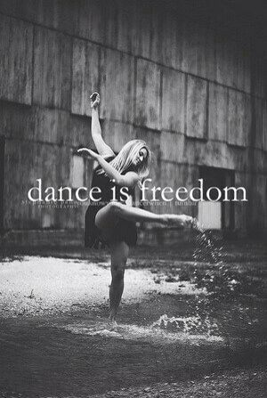 И чтобы я делала,если бы не танцевала...