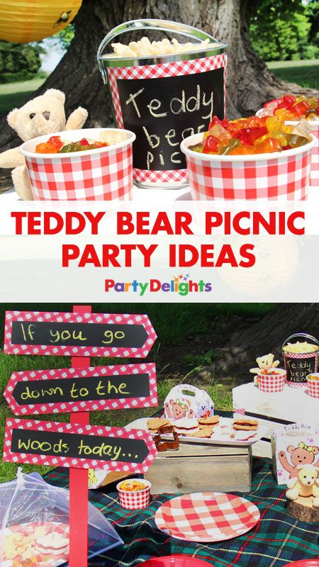 If you go down to the woods today, you're sure of a big surprise... an adorable teddy bear's picnic party! A fun kids' party theme that's perfect for a summer party, we've got all the inspiration you need. Read our blog post for teddy bear picnic decorating ideas, picnic party food ideas and more.