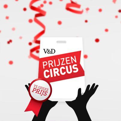 Doe mee met het V&D Prijzencircus spel op Facebook en win prachtige prijzen!