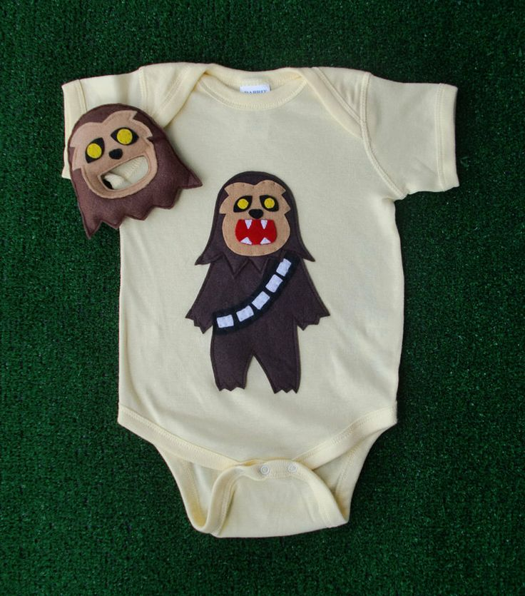 Sewing Wars - Baby Chewbaca - Looks like a good weekend project