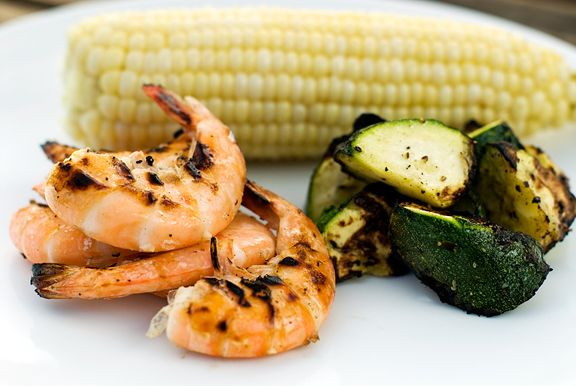 Grilled Tequila Lime Shrimp | Healthier food | Pinterest
