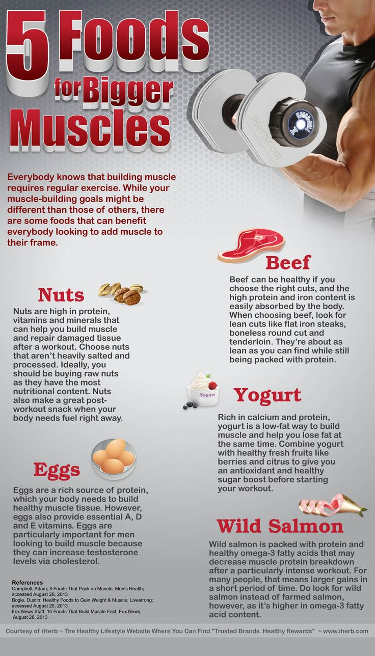 Foods For Bigger Muscle Building