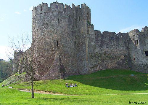 http://remains.se  Chepstow Castle