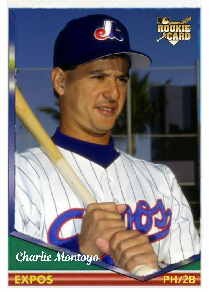 1994 Topps Design Charlie Montoyo Rc Custom Baseball Cards