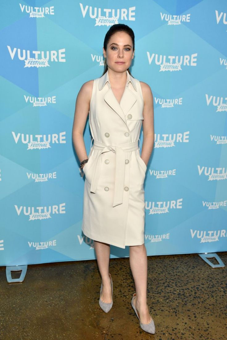 """#CarolineDhavernas Caroline Dhavernas - Vulture Festival Panel for """"Mary Kills People in NY 05/20/2017 