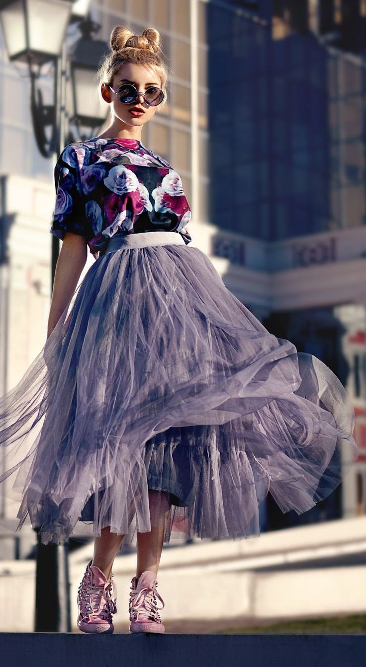 Grey Tulle Skirt....yes please!!!!