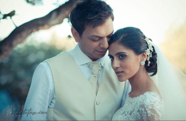 In the moment, #BridalCouple #Bride #Groom #CapeTown #WeddingMoments