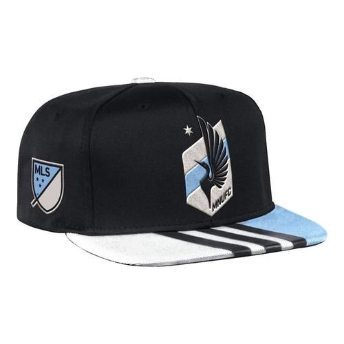Minnesota United FC Hat Adidas Flat Brim Snapback Cap