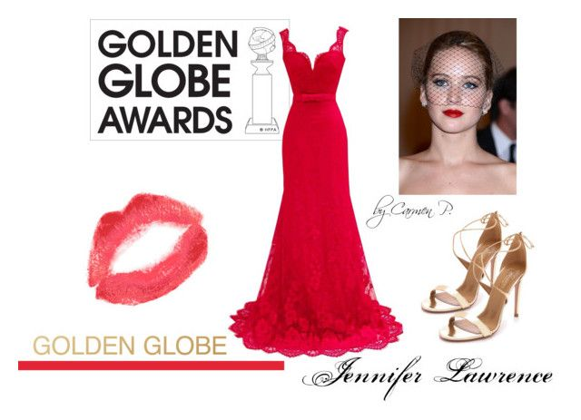 """Games"" by carmen-georgiana ❤ liked on Polyvore featuring GALA, Aquazzura, Topshop, GoldenGlobes, jenniferlawrence, 2016 and byCarmen"