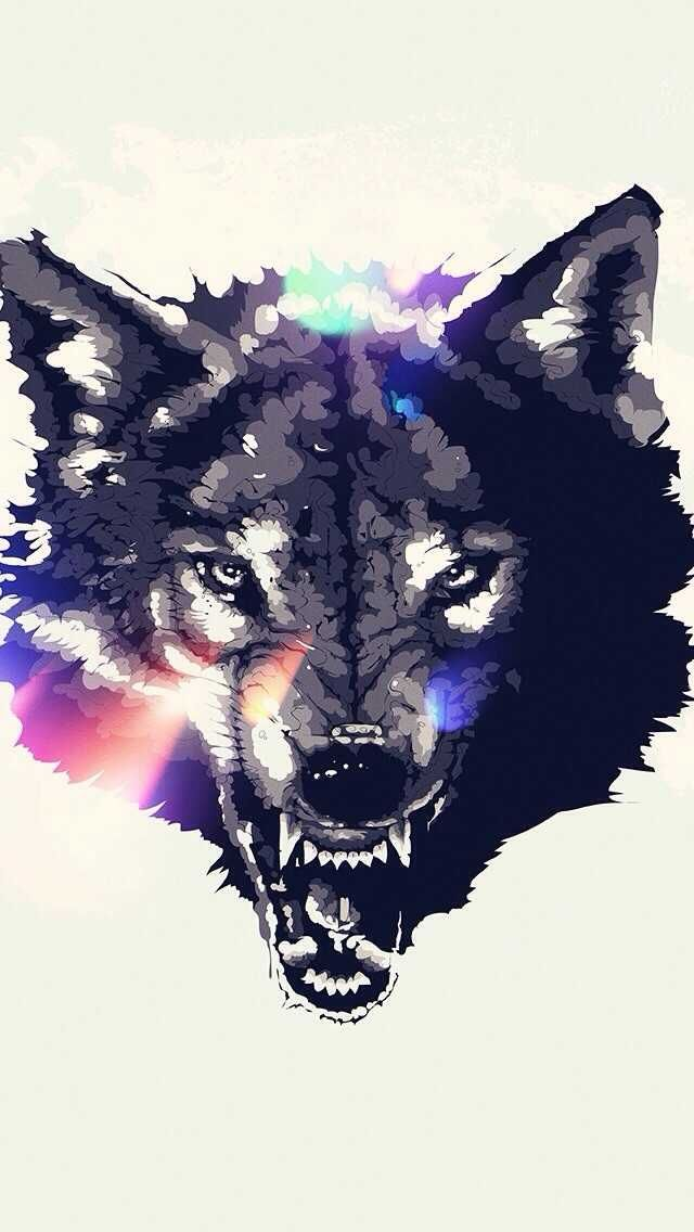 Wallpapers Phone Wallpapers Pt 2 Wolf Wallpaper Animal Art Art
