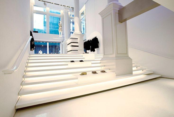 Vera Wang flagship store in Soho, NYC, by Gabellini Sheppard Associates.