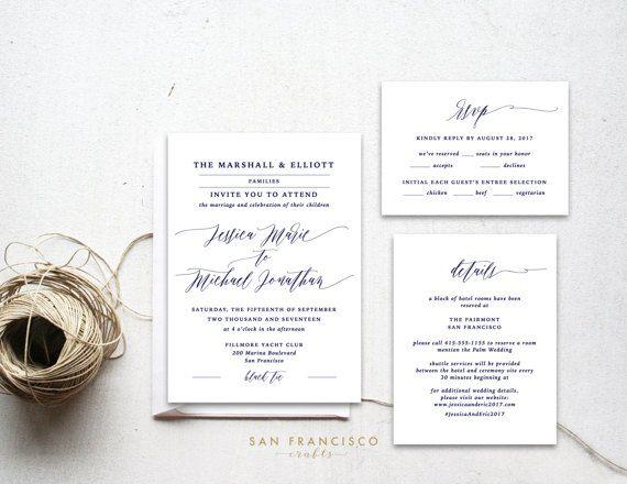 best 25 blue wedding invitation suites ideas on pinterest