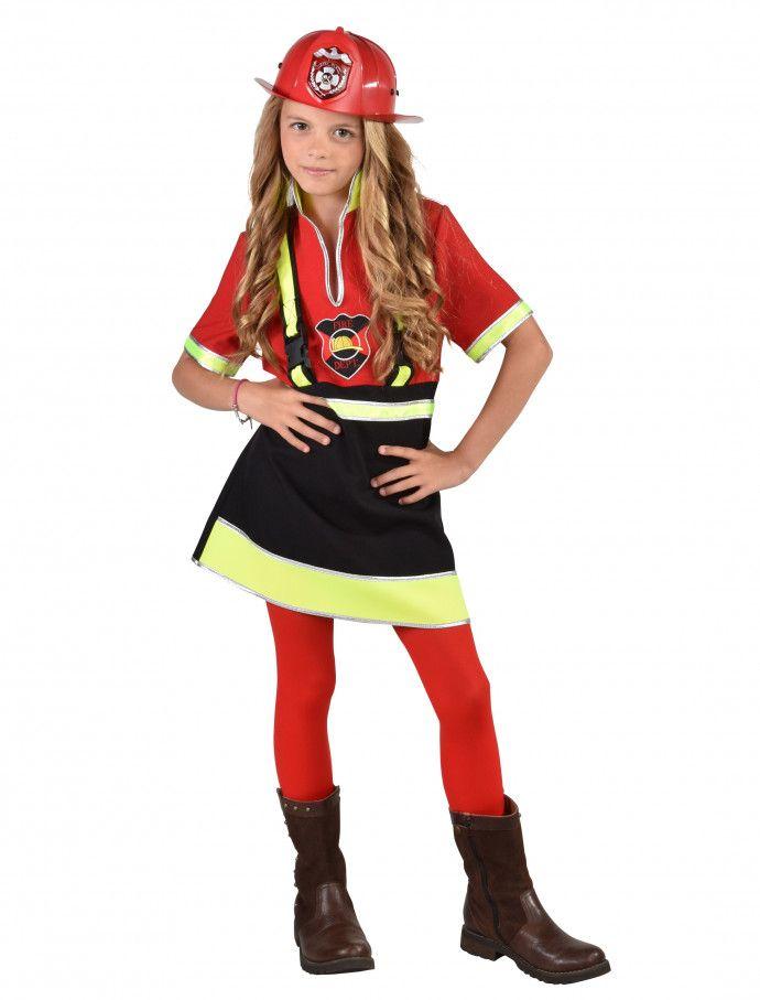 Kleid Feuerwehr Kinder Fur Karneval Fasching Deiters Madchen