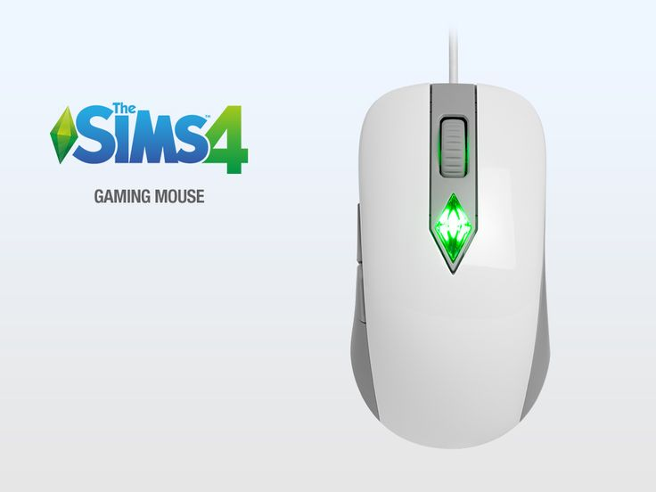 SteelSeries North America - SteelSeries The Sims 4 Gaming Mouse | Can be purchased through Amazon.com. Changes color according to your Sim's mood. Sims4.