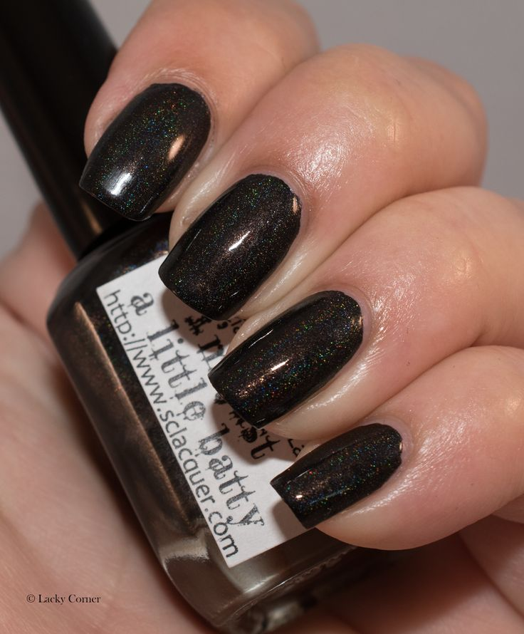 Lacky Corner: Superficially Colorful Lacquer - I'm Just A Little Batty