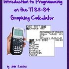 This three page handout walks students through the process of programming the Distance Formula on their TI 84 or TI 84 Graphing Calculator. The ste...