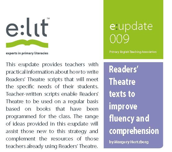 Free PETAA Paper Resources for Primary Teachers  This resource provides teachers with practical information about how to write Readers' Theatre scripts that will meet the specific needs of their students.