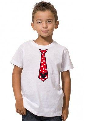 Camiseta Mickey Corbata