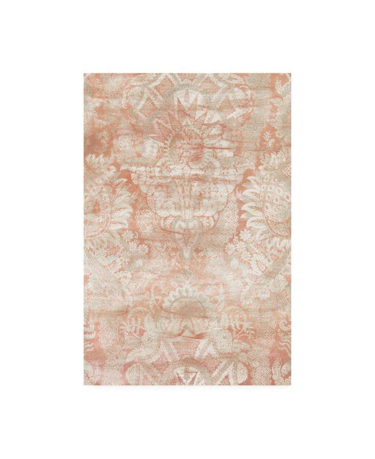 June Erica Vess Garnet Weft Iii Canvas Art – 20″ x 25″ – Multi