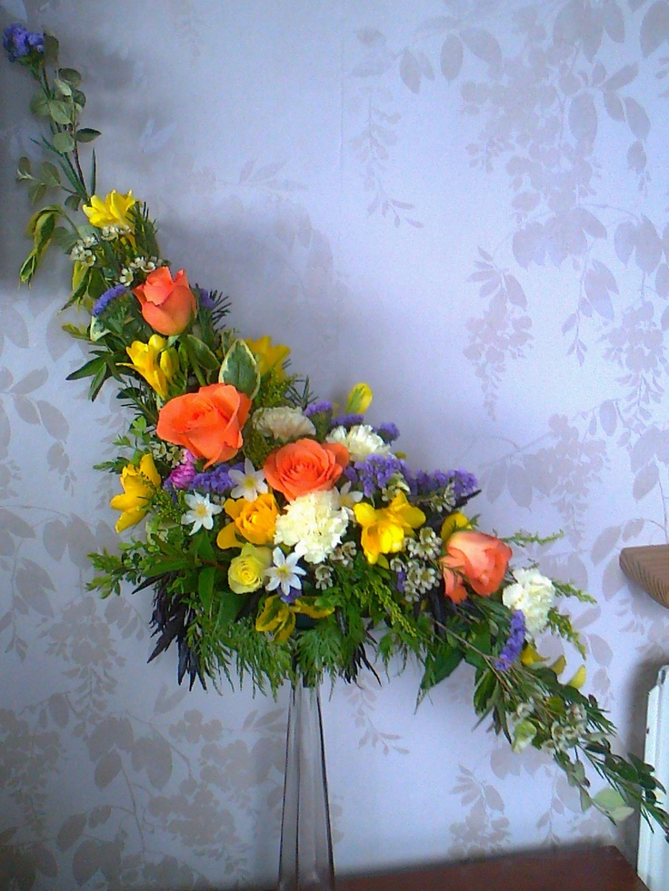 Hogarth's curve??? My daughter's flower arranging class ...