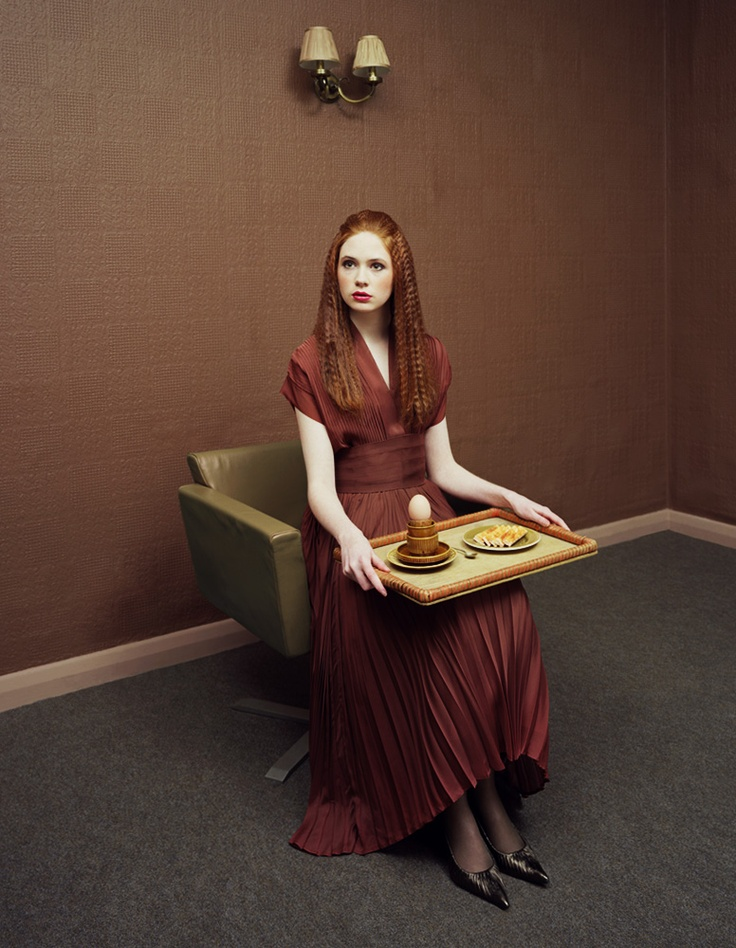 David Stewart photographs women's relationship with food in a wonderfully bizarre way