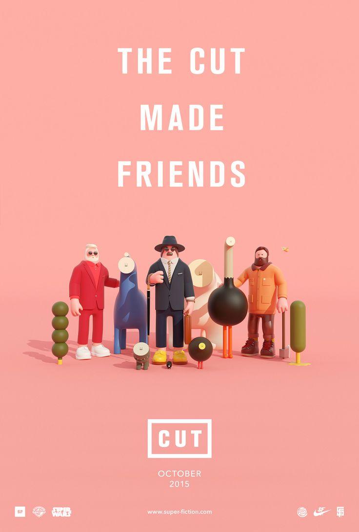 CUT | The cut made friends. on Behance
