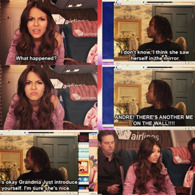 Victorious Tori Vega Andre Beck Cat Victorious Quotes Nick