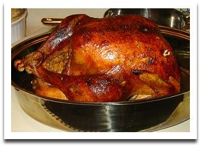 Tips on how to cook turkey overnight.  Turkey in the oven baked overnight to perfection-- and safely, too.