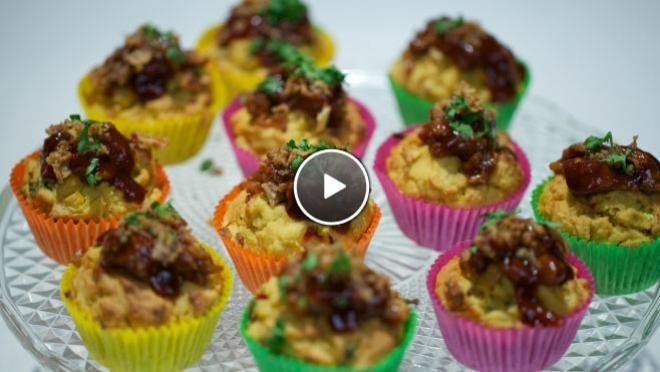 Frans' babi pangang cupcake - Rudolph's Bakery | 24Kitchen