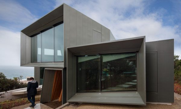 Glas Haus Gestaltung · Fairhaven Beach House   John Wardle Architects