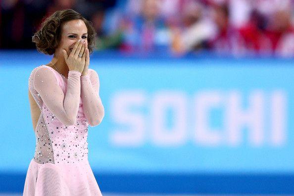 Meagan Duhamel of Canada (Team Event) #Sochi2014 #FigureSkating