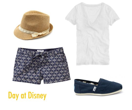 Viva Fashion: What to Wear to a Theme Park....