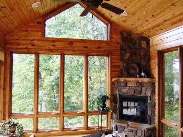 Nisswa mn four season porch ideas pinterest for Log cabin sunroom additions