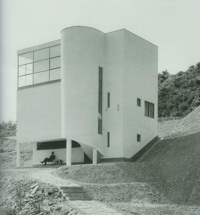 """""""1933-34  fischer józsef """" A house in Budapest built for Hungarian statistics scientist Dezső Hoffmann. """""""
