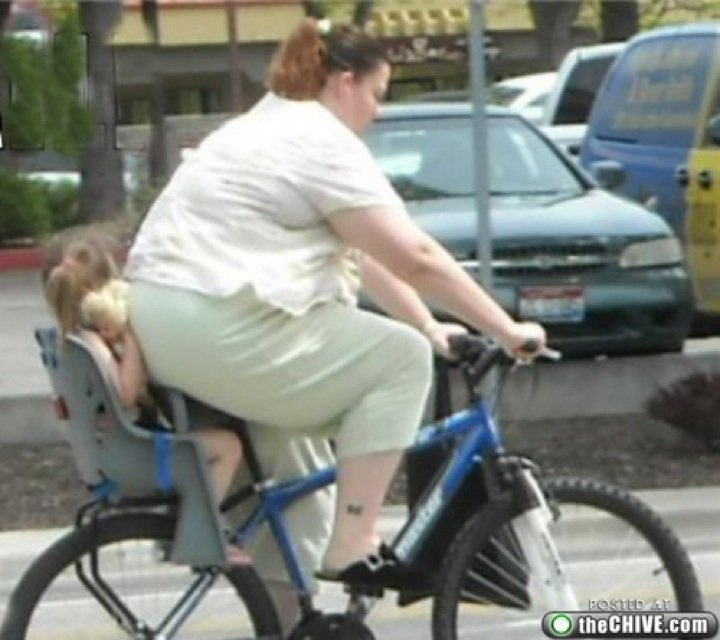 That kid is going to have a bike phobia for years