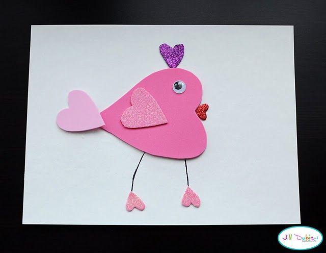 What a cute valentines craft.